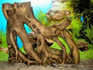 аквариумная коряга