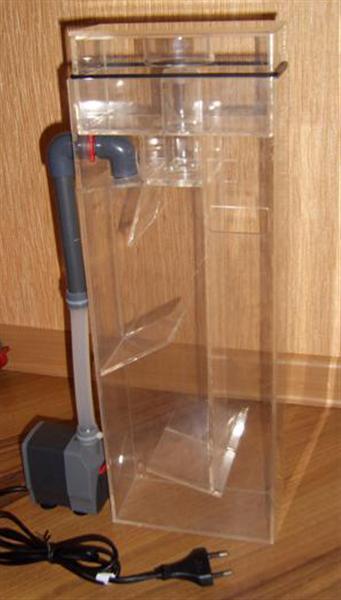 Фильтр в крышку для аквариума своими руками 25